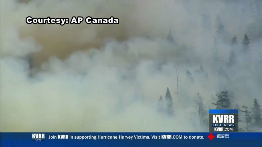 Canadian wildfire smoke reduces air quality in Minnesota