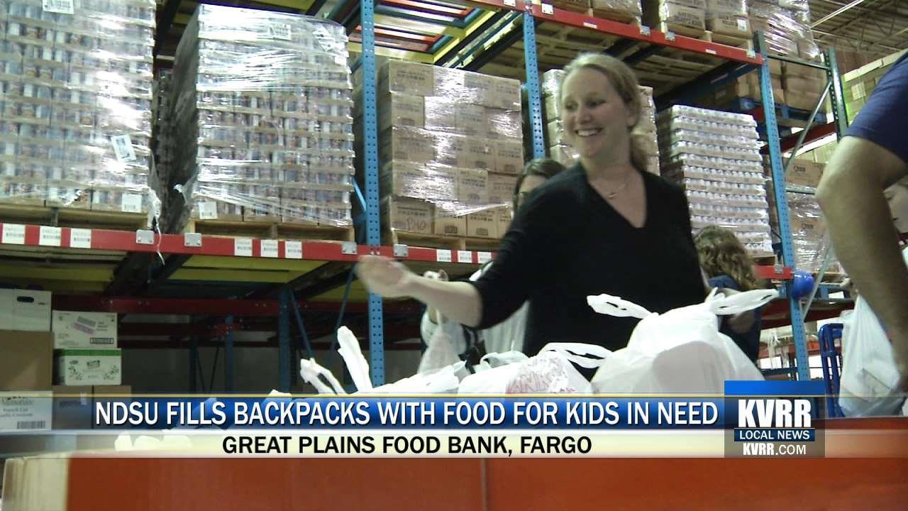 Great Plains Food Bank Backpack Program