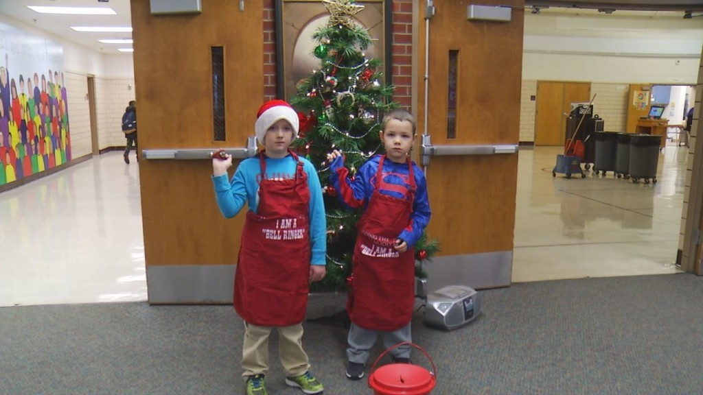 Annual Salvation Army Christmas Kettle Campaign up and running