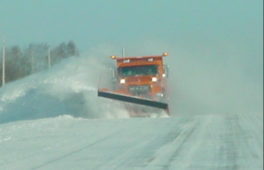 Three People Hurt After Running Into Snow Plow In Whiteout