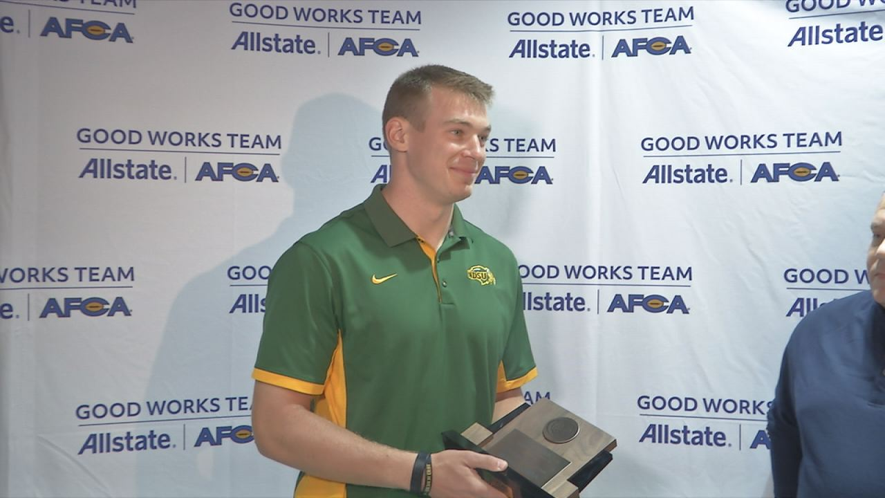 f3235e89514 Stick has thrived since taking over for Carson Wentz at quarterback. In  January, he delivered the Bison their sixth national title in seven years.