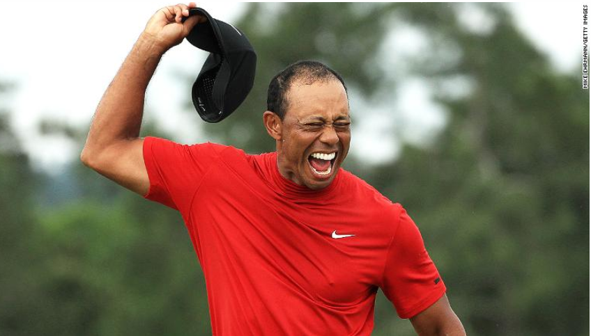 tiger woods wins masters for first time since 2005