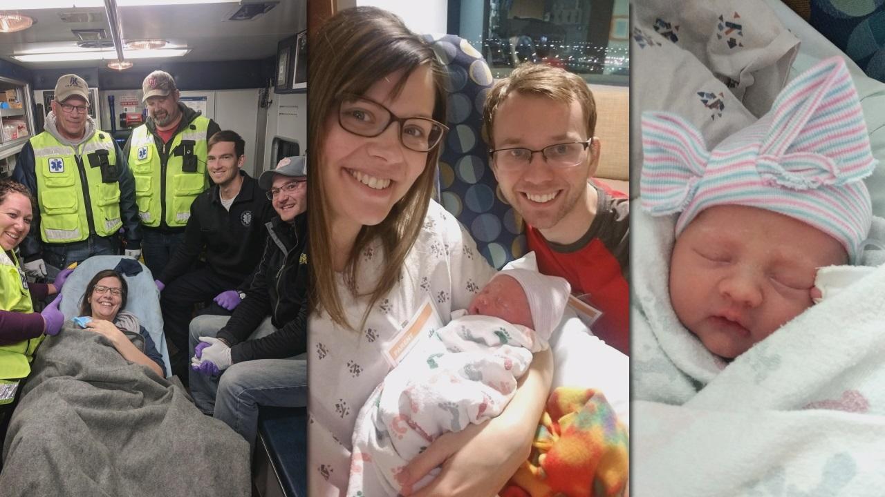 Baby born on I-285 due to icy roadway - AJC.com: Atlanta ...