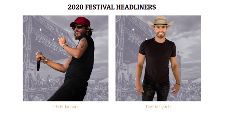 Dustin Lynch Tour 2020 Chris Janson And Dustin Lynch Announced For 2020 ND Country Fest