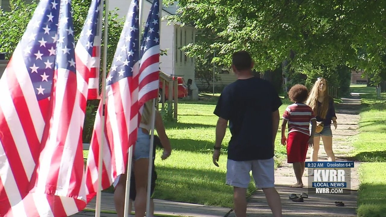 Man Plants Patriotism In His Front Yard With 25 American Flags