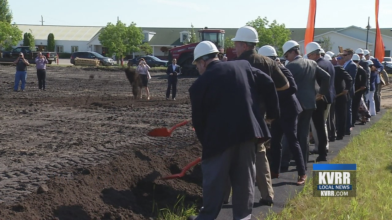 Biotech Company Breaks Ground on 14-Acre Expansion in Fargo