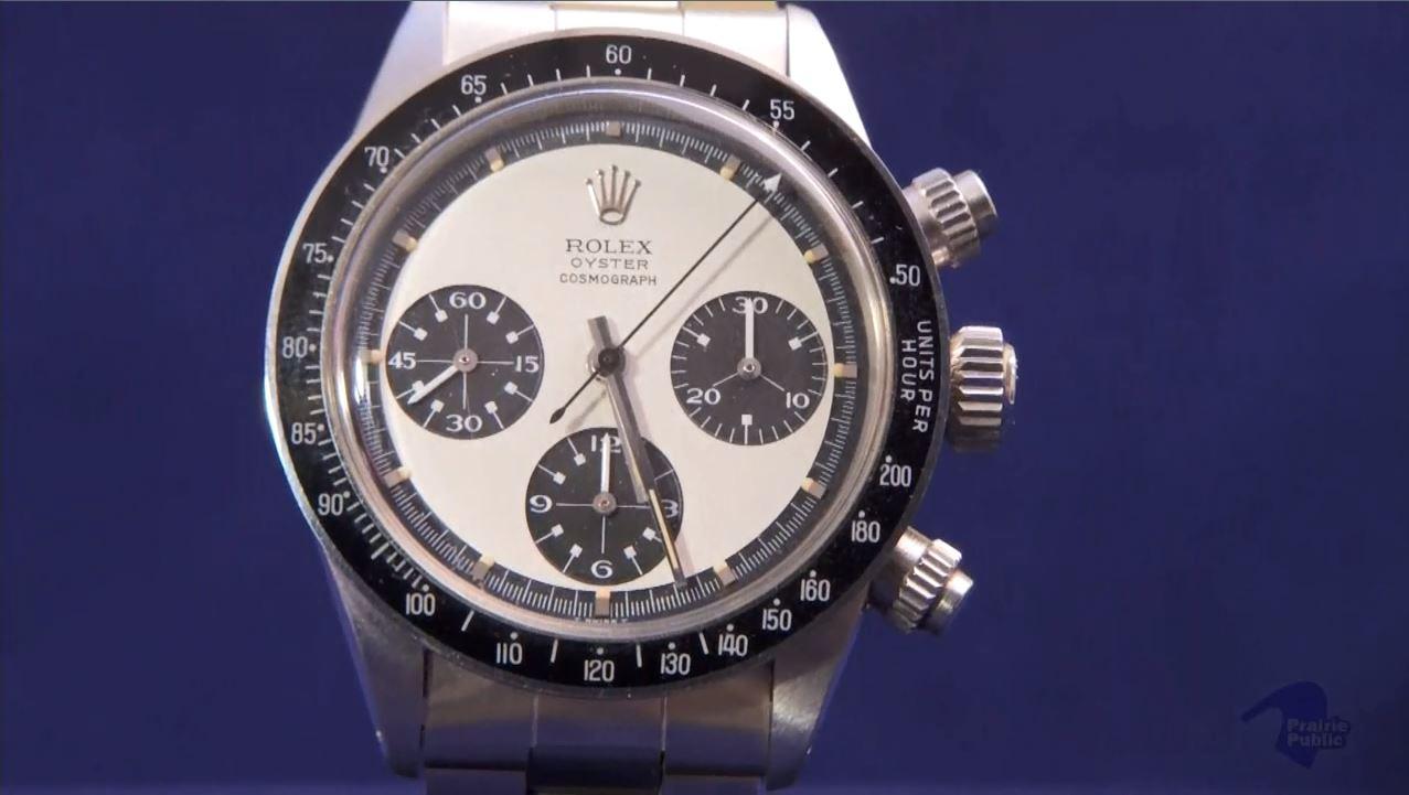 Rolex Raised At Antiques Roadshow In