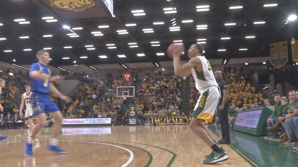 Ndsu Bball Senior Day Still