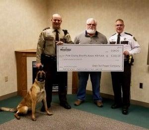 Polk County K9 Donation