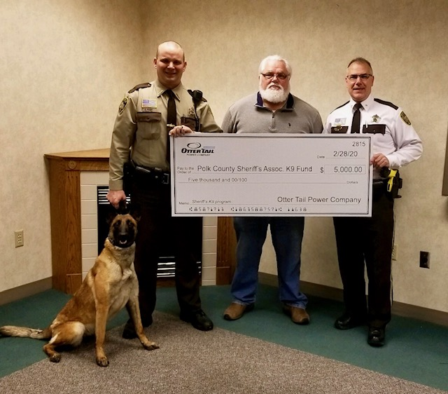 Polk County K9 Donation