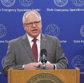 Gov Walz Stay Home 4 30