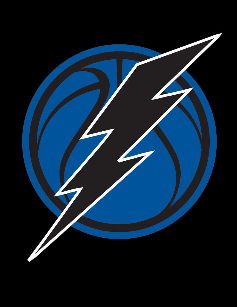 Lightning Basketball Logo