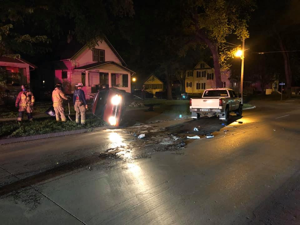 Rollover Dui Crash