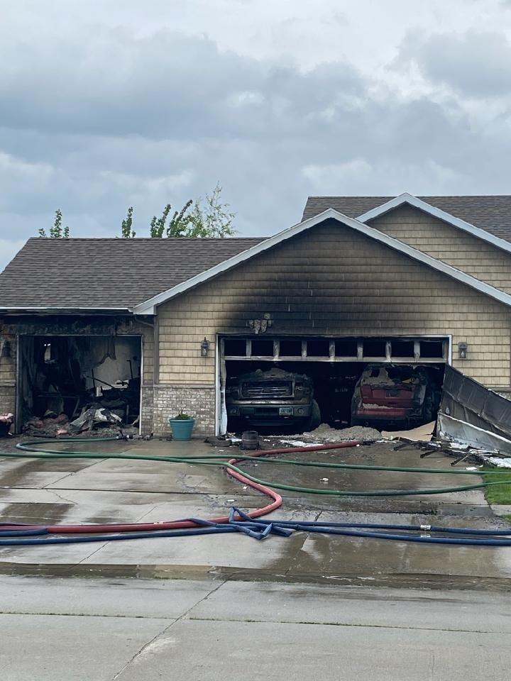 Grand Forks Garage Fire