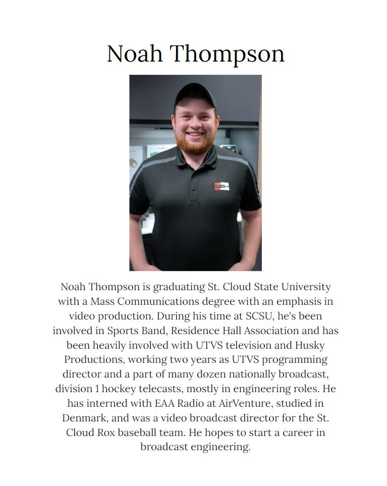 Ss Noah Thompson Rev