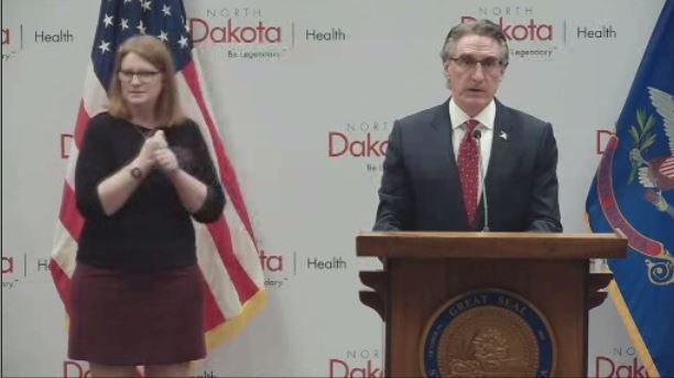 Gov Burgum Press Briefing