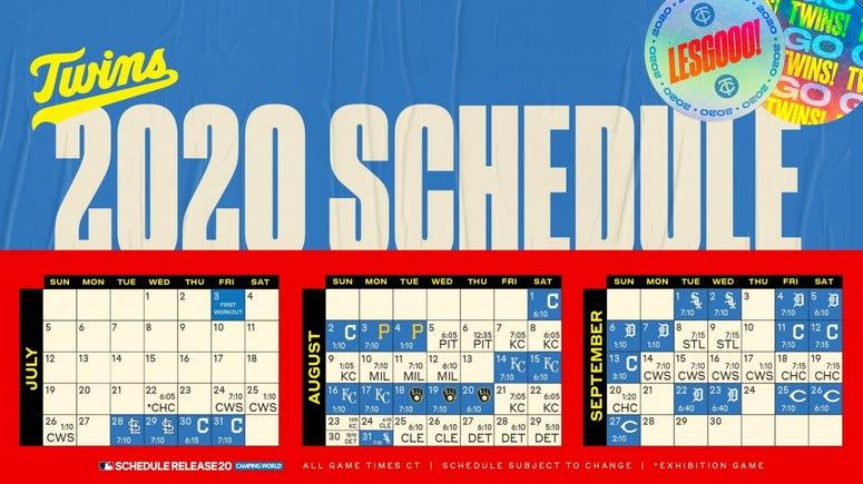 Twins Schedule