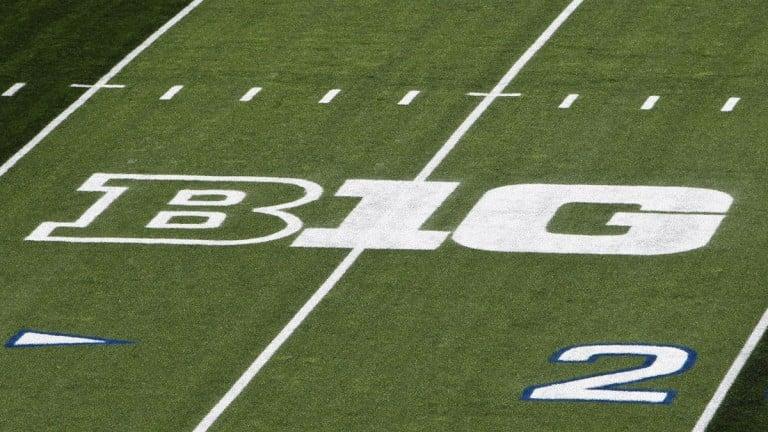 Big Ten Logo Field