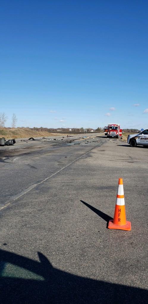 Harwood Crash Scene 10 16 2020 Scaled