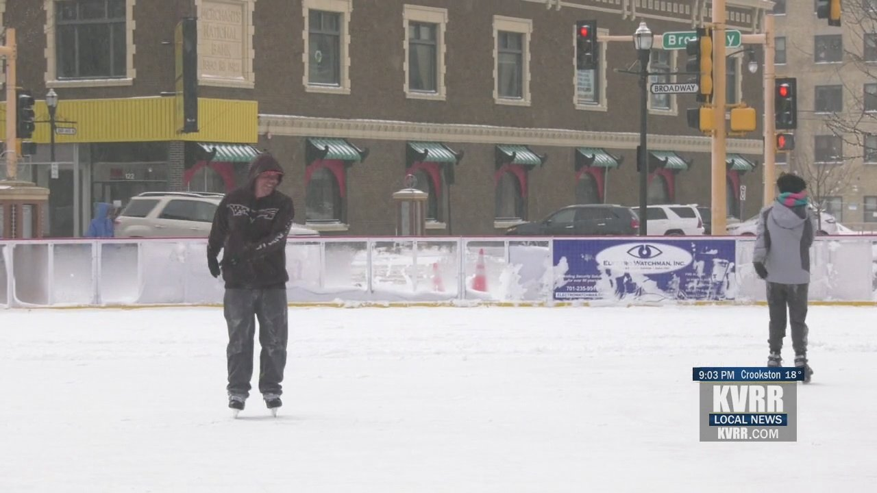 Families throughout the region enjoy the snow and kick off winter activities – KVRR Local News