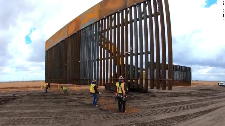 Fisher Industries Border Wall Construction
