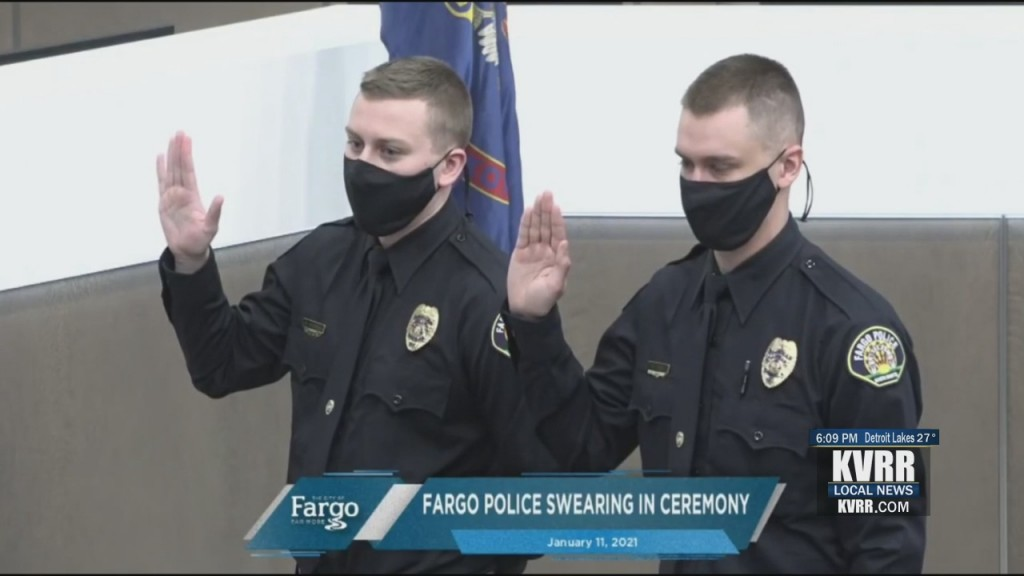 New Fargo Officers