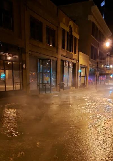 Water Main Break 300 Block Of Np Fargo Kfgo Photo