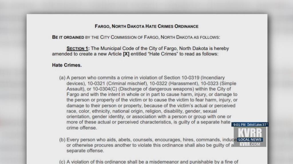 Fargo Hate Crimes