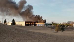 Mid America Steel Fire