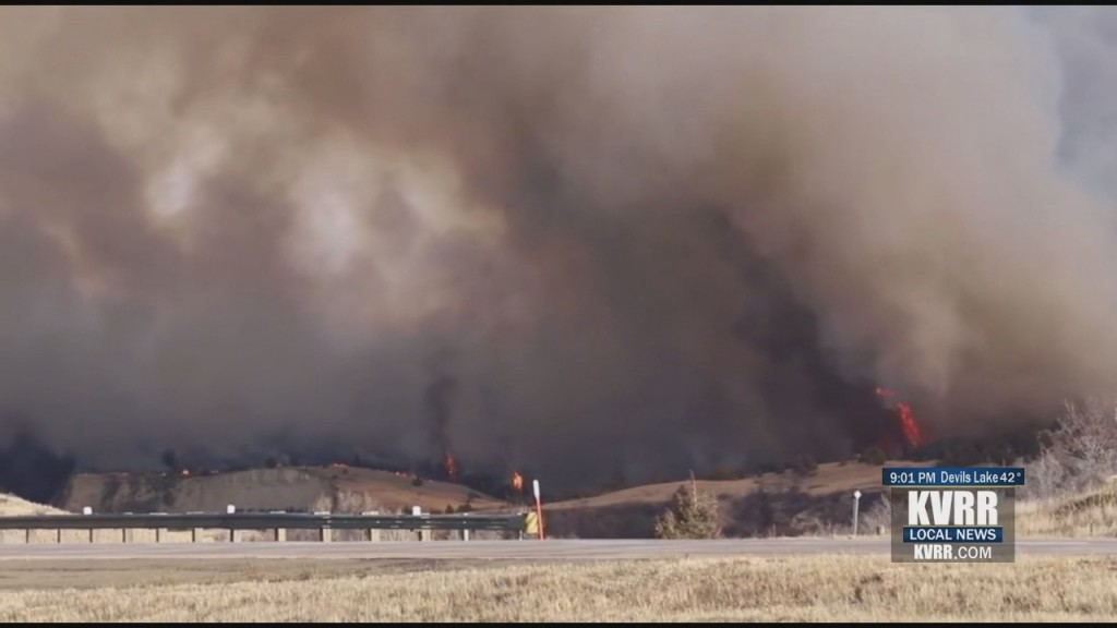 Western Nd Wildfires