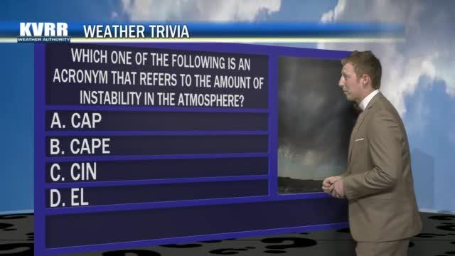Weather Trivia 4/10/21