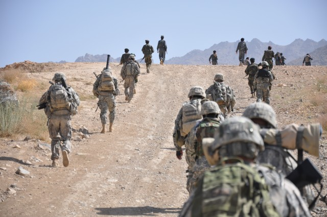 U.S. Army soldiers in Afghanistan