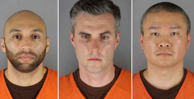 Floyd Case Three Ex Cops 2 Mug Shots
