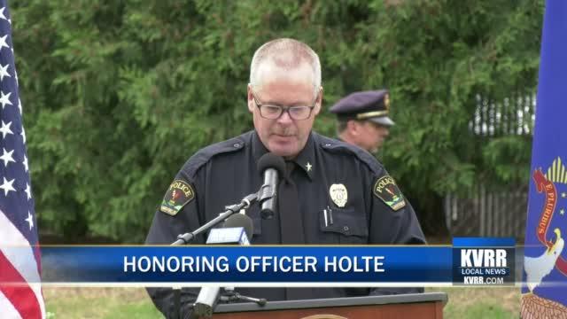 Cody Holte Ceremony