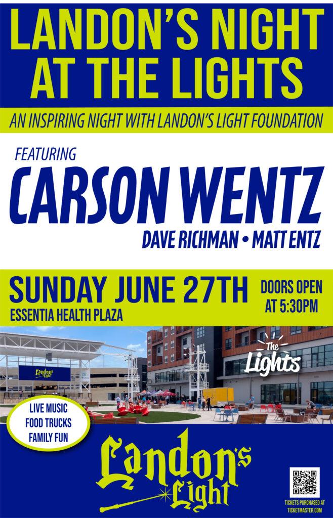 Landons Night At The Lights Poster 2 658x1024 1