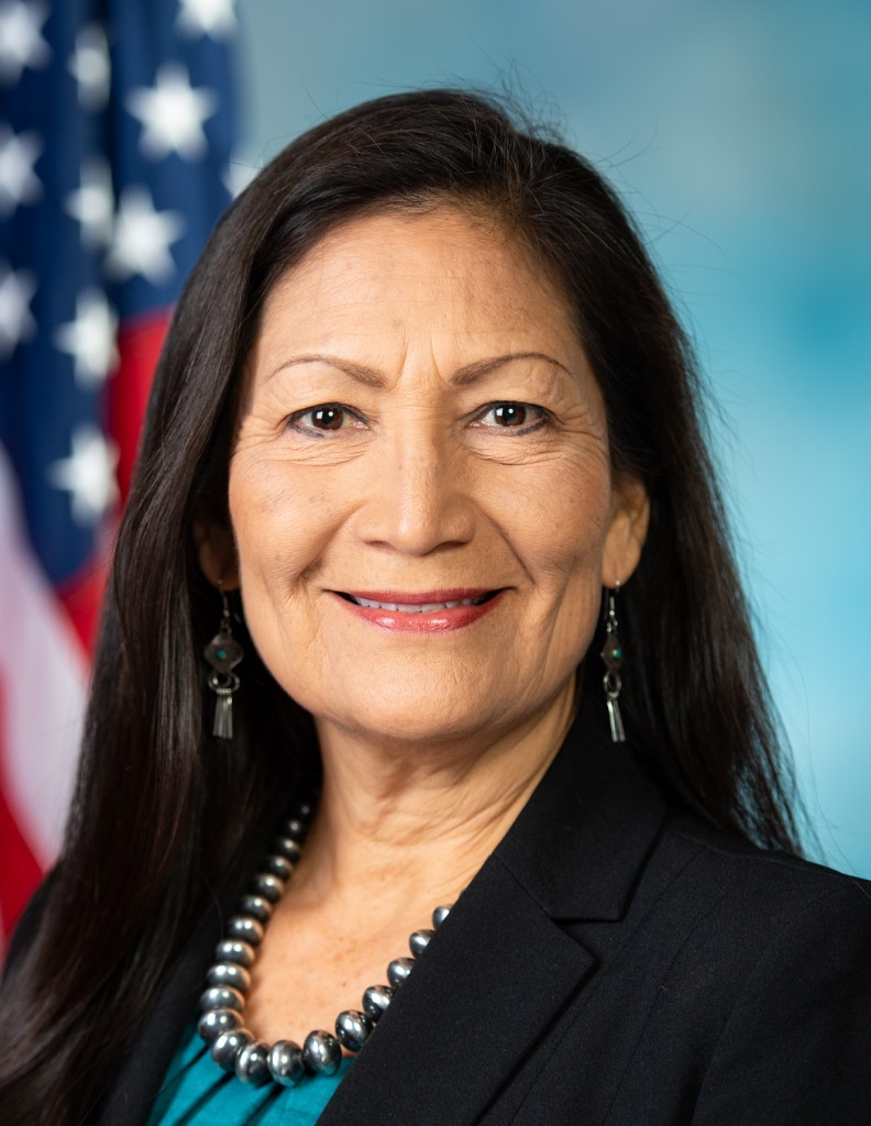 Deb Haaland Official Portrait 116th Congress Cropped