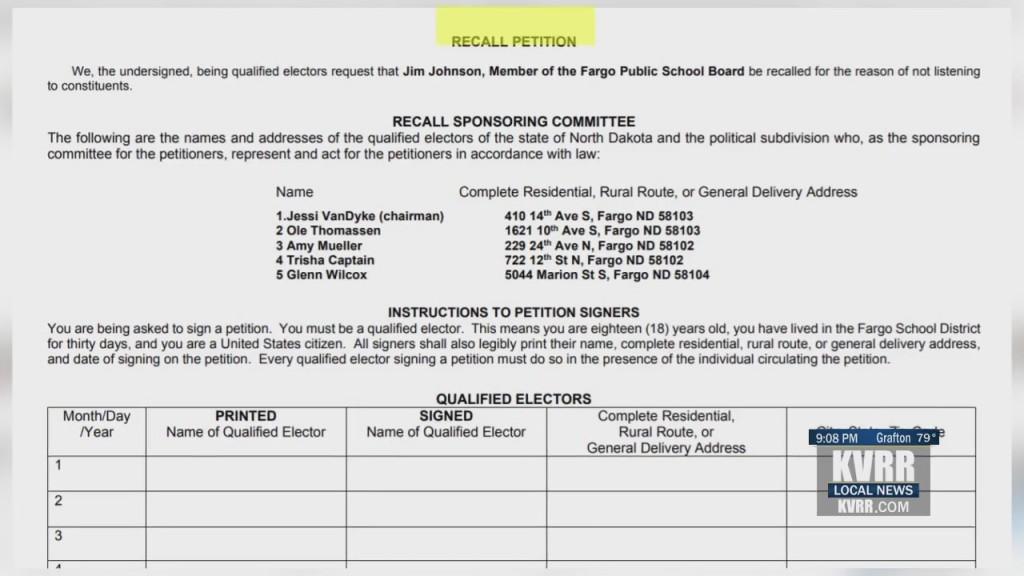School Board Recall
