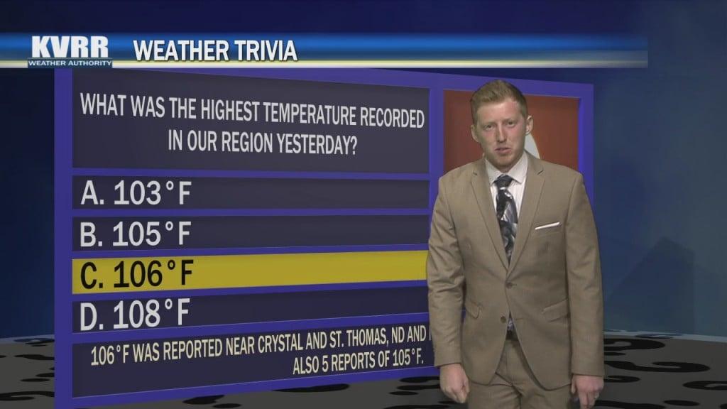 Weather Trivia 06 05 21