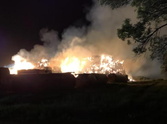 Wahpeton Masonite Straw Fire 6 2021