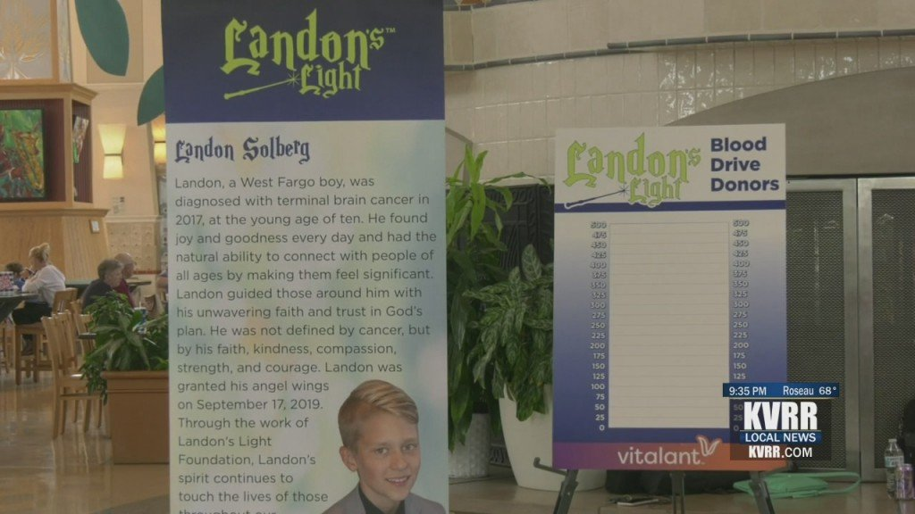 Landon's Life Donations