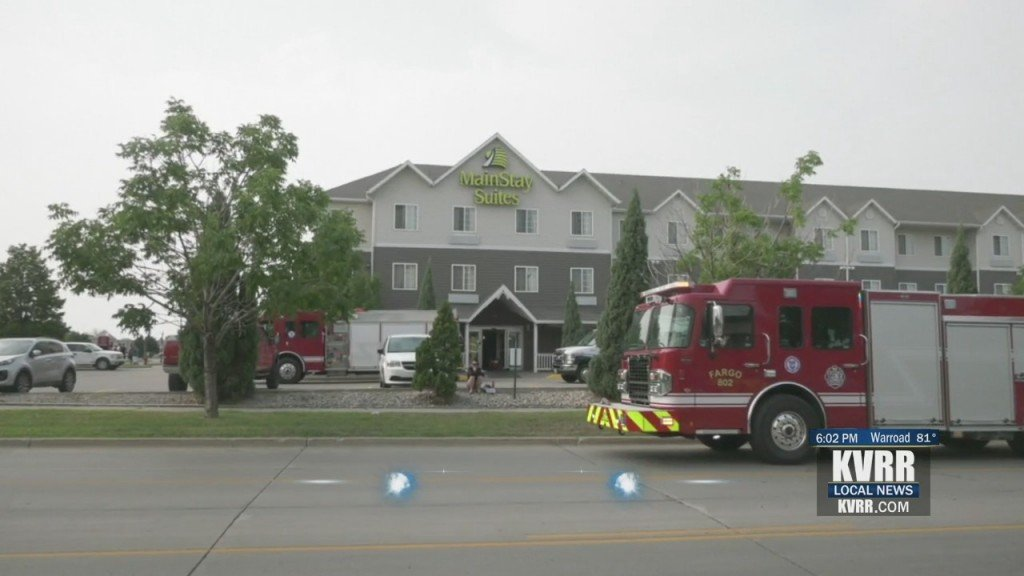 Mainstay Suites Fire