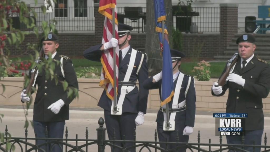 Und 9/11 Ceremony