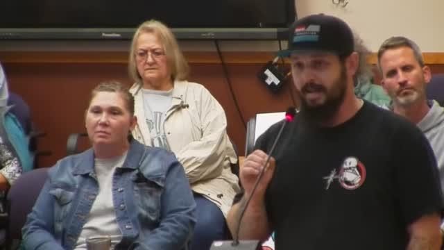 Grand Forks School Board Mask Parent