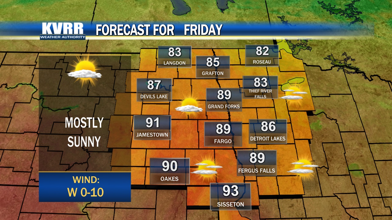 Weather Forecast Kvrr Local News