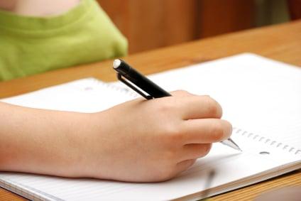Childwritinginnotebook