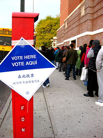 360px 2008 Voting Line In Brooklyn