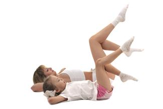 Parentandchildexercising