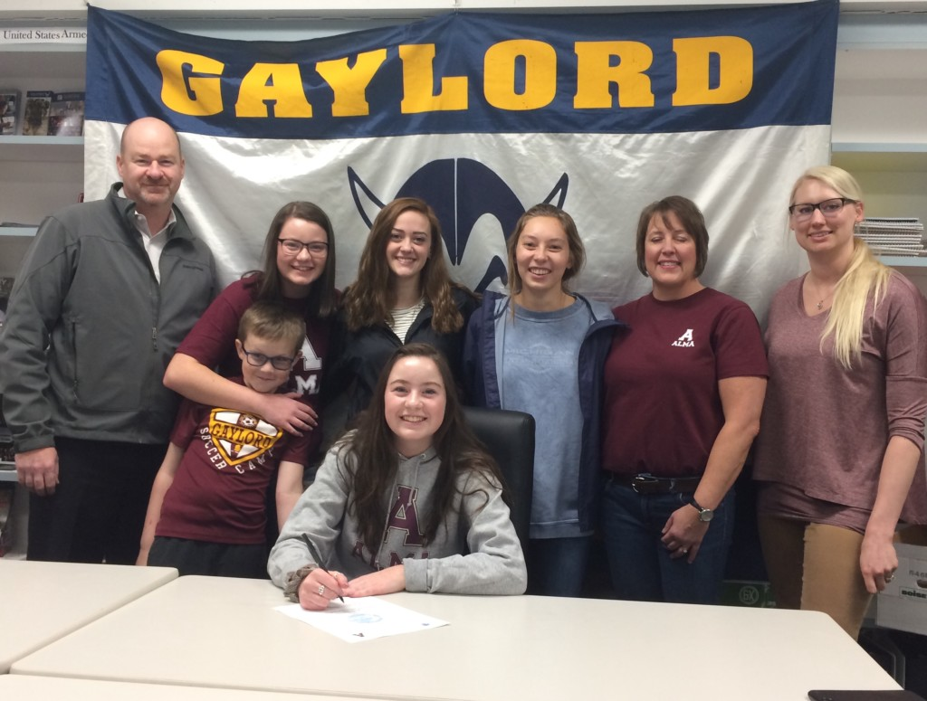 Gaylord's Quinn Commits To Alma College