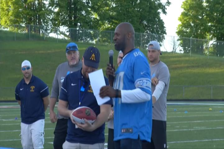 dad767c4 Detroit Lions Give Back to Gaylord Football Program - MISportsNow