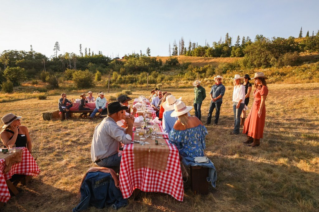 Alpine Mountain Ranch & Club Steak Ride August 13, 2020